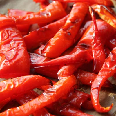 Rote Pfefferoni
