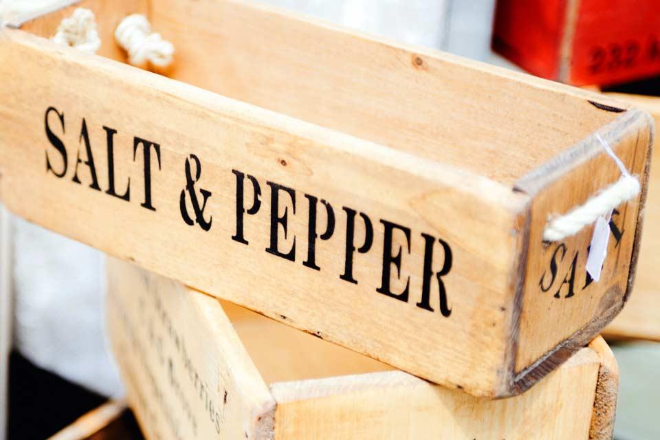 Salz in hoher Qualität kaufen